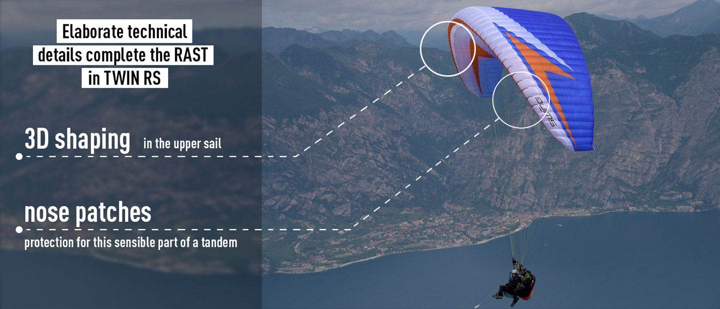 Twin-RS - Swing Paragliders