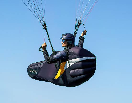 CONNECT RACE LITE Paragliding Pod Harness