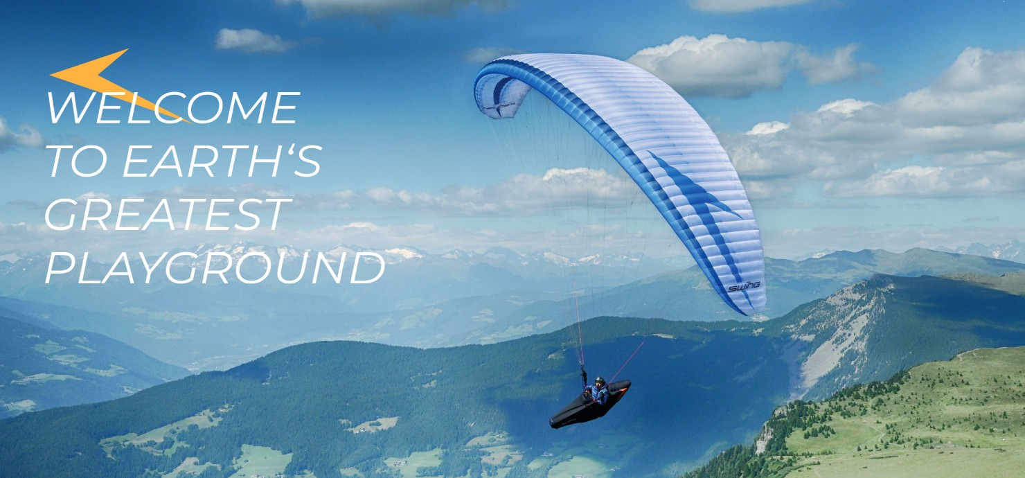 Swing Paragliders - Welcome to Earth´s Greatest Playround!
